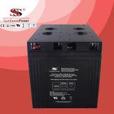 batteries d'acide de plomb profondes d'UPS de la batterie AGM du cycle VRLA de 2V 2000ah