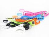 O PVC colorido isolou carregador do USB do cabo do USB do relâmpago de 8 Pin o micro