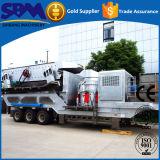 Precio diesel de la trituradora de la piedra caliza caliente de la calidad para la venta