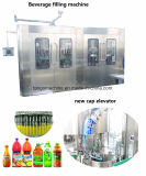 Завершите автомобиль в 1 мангое Juice Beverage Filling Разливая по бутылкам упаковка Machine