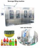 Terminar o automóvel em 1 manga Juice Beverage Filling Embalagem de engarrafamento Machine