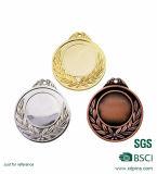 エナメルの連続した金属メダル