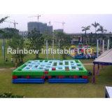 Скольжение хвастуна динозавра Inflatables комбинированное для партии малышей