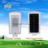 Integrare l'indicatore luminoso di via della pila solare del sensore di movimento LED