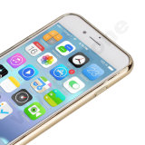 Couverture de butoir de galvanoplastie de téléphone de l'espace libre TPU pour l'iPhone 7&7plus
