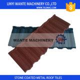 Tuile de toiture enduite en métal de pierre colorée populaire du Nigéria