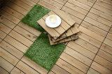 DIY Outdoor Wooded Interlocking Removable Floor