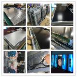 Fußboden, der 55 Zoll Innenbildschirm-Netz LCD Media Player bekanntmachend steht
