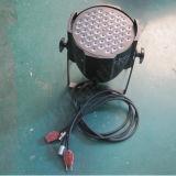 Lampada di PARITÀ del professionista 54X3w RGBW DMX LED della fase