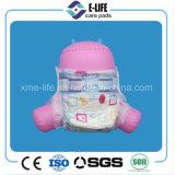 OEM青い漏出監視が付いているニースプリント赤ん坊のおむつ