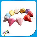 Creativa Forma de Diamante Dulces de Boda de Papel de Regalo Caja de Embalaje