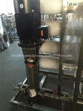 Equipamento bebendo do tratamento da água do profissional com sistema do RO
