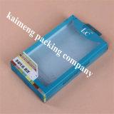 Caixa de armazenamento plástica de dobramento de venda quente do animal de estimação desobstruído do projeto 2017 para o pacote móvel (caixa de dobramento)