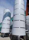Напольный большой бак для хранения нержавеющей стали