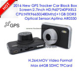 2016 neuer 2.7inch Car Flugschreiber mit GPS Tracking Route Car Dash Camera durch Google Map Play-back, GPS Logger Car Digital Video Recorder DVR-2709
