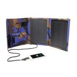 carregador solar Foldable Emergency do fabricante 10.5W para o acampamento ao ar livre