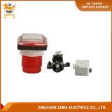 전기 정연한 플라스틱 누름단추식 전쟁 스위치 빨간 Pbs-008