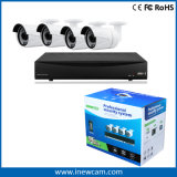 поддержка P2p обеспеченностью DVR CCTV 720p 4CH