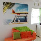Heiße verkaufende preiswerter Preis-umweltfreundliche kundenspezifische Tapeten-Wandbilder