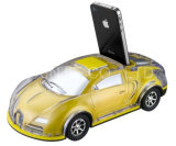 携帯電話のBluetoothのスピーカーを置くFMのラジオが付いているコンピュータのための小型ポータブルLEDホーム無線Bluetooth車の形のスピーカー