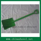 Il potere dell'utensile manuale ha ricoperto la pala d'acciaio saldata della maniglia
