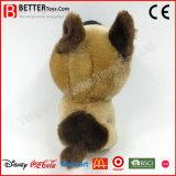 박제 동물 아이를 위한 연약한 개 견면 벨벳 장난감