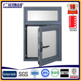 Aluminio y Door Swing Casement Window con Blades