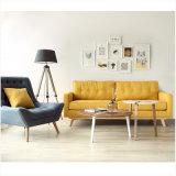 Sofà semplice moderno della mobilia del tessuto per il salone