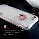 Caja delgada del teléfono celular de la armadura del OEM de la venta caliente del Amazonas para el iPhone 7/7 más