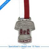 Medaglia d'argento del Triathlon antico su ordinazione per il regalo