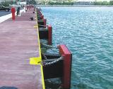 Defensa de goma del arco estupendo para el muelle/el embarcadero/el embarcadero
