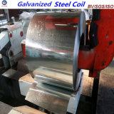 Bobine en acier galvanisée plongée chaude de feuille de toiture de matériau de construction