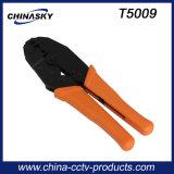 Koaxiales Kabel CCTV-Quetschwerkzeug für BNC Verbinder (T5009)