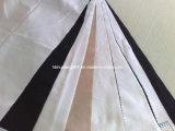"Poliéster espiga 100dx32 58/59 ""Blanco / teñido de la tela (HFHB)"