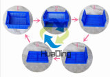 caisses en plastique utilisées par mémoire compressible de catégorie comestible de 525X355X270mm