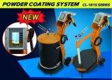 Sistema manual eletrostático do injetor do revestimento do pó