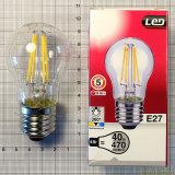 Bulbo ahorro de energía de la luz 2W 4W E14 E27 G45 LED