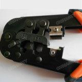 CCTV는 RJ45/11/12 플러그를 위한 주름을 잡는 공구를 자르 분리하 주름을 잡는다 (T5068)