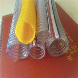 Mangueira reforçada plástica da tubulação de descarga industrial da água do fio de aço do PVC