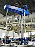 Mélangeur de disperseur monté avec le réservoir (KFS-M)