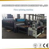 Macchina di scanalatura e tagliante dell'alimentazione 2 di colore di stampa Chain del cartone
