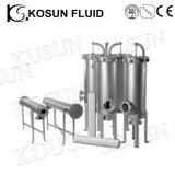 Acero inoxidable Cerveza de alta presión Vino (aceite) Membrana de agua Filtro Vivienda