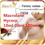 Gel de ácido hialurónico El ácido hialurónico inyección fabricante de proveedores aprobados por la CE