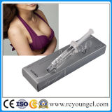 유방 확대 유방 증강 인자 유방은 Hyaluronate 산성 피부 충전물 주입을 확대한다