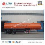 2-Axle 42cbm Benzin-/Erdöl-/Crude-Öltanker-halb Schlussteil