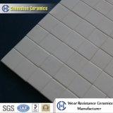 Плитка износоустойчивого глинозема керамическая Hex на сетке