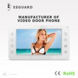 Interphone 7 дюймов телефона двери домашней обеспеченностью системы внутренней связи видео-