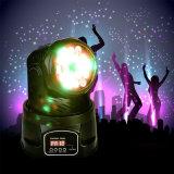 Stadiums-Beleuchtung des LED-Miniwäsche-bewegliche Hauptlicht-18X3w RGBW 4in1 für Stab-Ereignis-Partei-Erscheinen der Hochzeits-Weihnachtsgeburtstag DJ-Disco-KTV