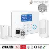 Охранная сигнализация домашней обеспеченностью GSM беспроволочная с кнопочной панелью касания