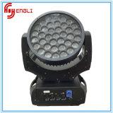 37PCS RGBW mit beweglichem Hauptwäsche-Licht der CREE Lampen-LED